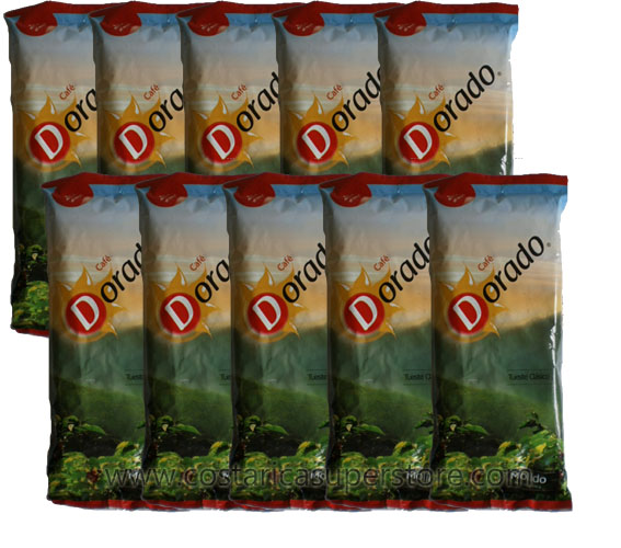 10-pack Dorado Coffee LOW SHIPPING!
