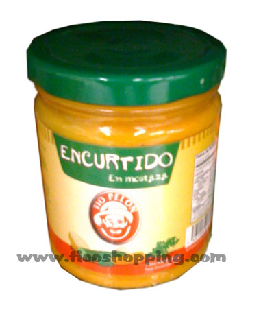 Mustard Encurtido Tio Pelon 270g. - Click Image to Close
