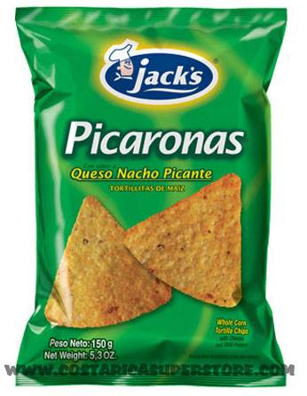 Picaronas con Chile Jacks 175g