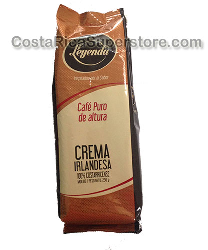 Coffee Irish Cream Flavored Leyenda Coffee 250g.