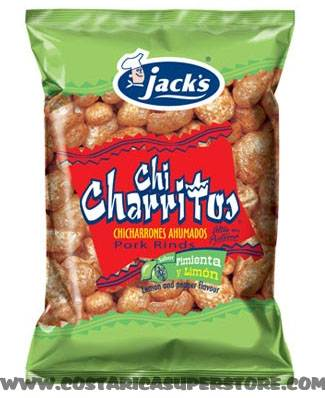 Chicharritos con limón Jacks 72g