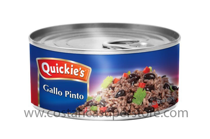 Canned Gallo Pinto by Quickies 9 oz